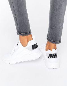 633adb8d66841 Nike   Nike - Huarache Run Ultra - Baskets - Blanc Chaussure A Talon Blanche ,