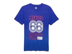 Mexico 66 Short Sleeve Tee | Dark Blue | Onitsuka Tiger United States