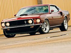Ford Hot Rods 69 Mustang