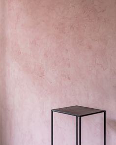 Marrakech Walls, a single coat lime-plaster-paint, mineral, in color Old Rose by Pure & Original Plaster Paint, Plaster Walls, Interior Walls, Interior Design, Stucco Finishes, Apartment Living, Living Room, Lime Paint, Ral Colours