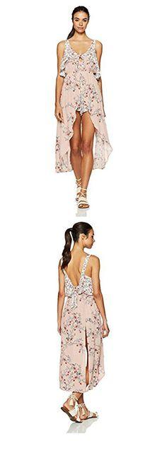 98e84b8e71c6 Somedays Lovin Women s Sweet Sakura Floral Print Maxi Playsuit