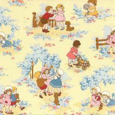 Tissu Lecien Petite Marianne C x 30cm - Ma Petite Mercerie