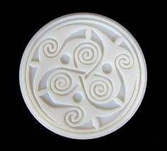 The Celts believed that the most important things in life came in threes: birth, death, rebirth; body, mind, spirit; earth, water, sky; past, present, future; father, son, holy ghost; and the triskele is believed to represents these tripartite meanings. Some of the more current interpretations of the triskele are that it is a symbol for the cycles of life, personal growth, human development, and spiritual expansion.