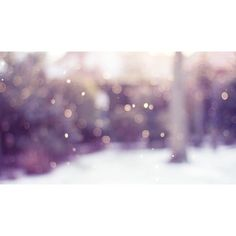 1920x1080 Winter Bokeh desktop PC and Mac wallpaper ❤ liked on Polyvore featuring home, home decor, wallpaper and winter wallpaper
