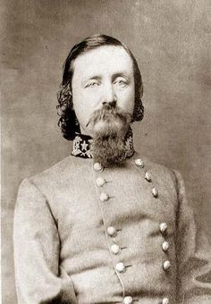 Confederate Major General George E. Pickett. His division of Virginians were ordered to charge the Union line on Cemetery Ridge on the third day at Gettysburg, 1863. It failed, and the battle was lost for the South. Southern armies could never muster another offensive into the North.