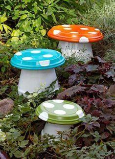 Quick & Easy Garden Mushrooms