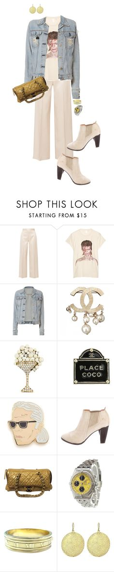 """""""Davi"""" by ccoss ❤ liked on Polyvore featuring The Row, MadeWorn, rag & bone, Chanel, Marc Jacobs, Georgia Perry, COSTUME NATIONAL, Breitling, Tiffany & Co. and Jennifer Meyer Jewelry"""