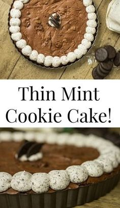 Thin Mint Cookie Cake!!!