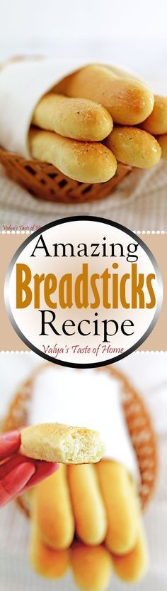 "I am excited to share with all of you what I will call ""Amazing Breadsticks Recipe"". The bread has a distinctively different taste from breadsticks made with the French Bread Recipe. They are pillow soft and so delicious!"