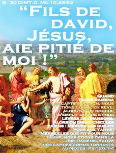PAROLE - année  liturgique B (images et PAROLE...A - C..)blog S. Chiara   Maria SS. Consolata : B - 30 DIM.T.O.