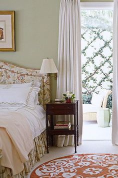 If you've already decided you want to spotlight green or you still need some convincing and inspiration, you're in the right place. We're showcasing designer green bedrooms that set the gold standard for decorating with this nature-inspired color. Keep reading to see how this versatile anchor color can transform just about any bedroom, no matter where it is—an estate, city apartment, or even a mountain chalet. Green Bedrooms, Bedroom Green, Paint Cans, Nature Inspired, Color Inspiration, Green Colors, Spotlight, Anchor, Beautiful Homes