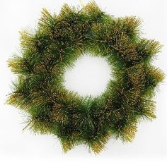 The new PVC  christmas decoration supplies, wall decoration 35cm/40cm/50cm   gold   pine needles christmas wreath-in Christmas Decoration Supplies from Home & Garden on Aliexpress.com | Alibaba Group