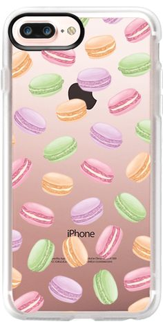 Casetify Protective iPhone 7 Plus Case and iPhone 7 Cases. Other Food iPhone Covers - Macarons by Katie Reed | Casetify