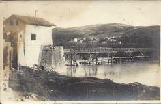 (1915-18) Veduta del M. San Michele con Isonzo