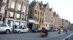 Most of Ypres, Belgium, was level in World War I but was rebuilt to resemble the original medieval city. Photo by L.A. Times writer Christopher Reynolds.