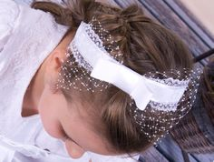 wreath for first holy communion hair decoration by MonikaVenika