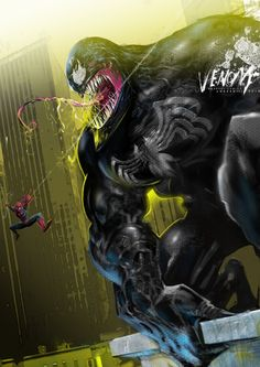 Venom by uwedewitt.deviantart.com on @deviantART