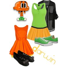 amazing world of gumball inspired outfits | Darwin - The Amazing World of Gumball - Polyvore