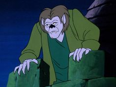 """Wolfman The Definitive Ranking Of All 29 Villains From """"Scooby-Doo, Where Are You? Scooby Snacks, Cartoon Gifs, Cartoon Characters, Scooby Doo 1969, Scooby Doo Halloween, Halloween 2019, Halloween Art, Halloween Decorations, Scooby Doo Tattoo"""