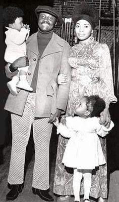 Redd Foxx Death | Donnie Hathaway with family