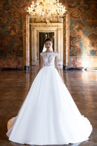 Instant love when we saw Milla Nova wedding dresses 2017 collection. Chic bridal gowns with a modern style, lace details & striking applications. Bridal Wedding Dresses, Wedding Bride, 2017 Wedding, Weeding Dress, Gorgeous Wedding Dress, Mila Nova Wedding Dress, Dream Dress, Marie, Ball Gowns