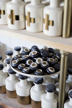 Honeycomb Studio handmade small batch ceramics in Atlanta, GA on Thou Swell Ceramic studio tour. Atlanta City, Ceramic Studio, Cream And Gold, Honeycomb, Dinnerware, Studios, Objects, Ceramics, Lifestyle