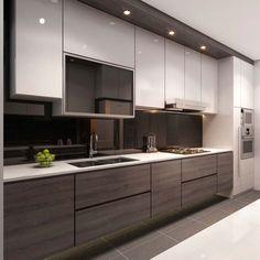 Singapore Interior Design Kitchen Modern Classic Kitchen Partial Open Google Search