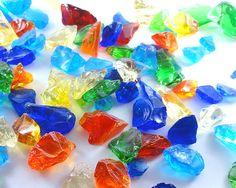 琉球ガラス カレット(かけら/破片) Lサイズ - 琉球ガラスの通販 | 琉球ガラスのawaniko
