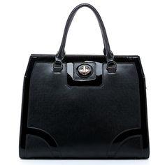 2013-2014 Autumn Winter Collection Elegant Italian Leather Tote