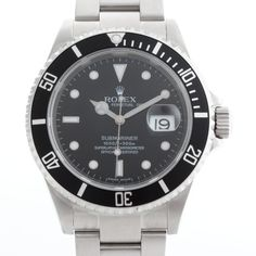 Rolex Submariner Date Ref 16610 With Box and Papers view 1