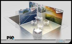 Solarex Fuarı ''ALUMINCO'' Stand Tasarımımız