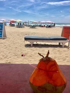 Doublesix beach at Seminyak, Bali island.