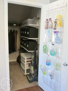 Image result for walk in coat closet organizing ideas