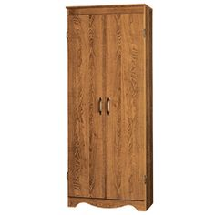 @Overstock - A Talon multipurpose wooden storage cabinet adds a valuable organizational option in rooms without enough built-in storage. The cabinet is 60 inches high, so there is enough room inside to use the cabinet as a supply locker, pantry, or linen closet.http://www.overstock.com/Home-Garden/Talon-Multipurpose-Two-Door-Scalloped-Base-Storage-Cabinet/6195938/product.html?CID=214117 $149.99