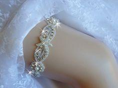 A personal favorite from my Etsy shop https://www.etsy.com/listing/485563493/beach-wedding-garter-starfish-bridal