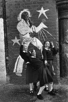 Christine Spengler - Fall's Road, Belfast, Northern Ireland 1972. S)