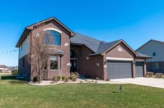 Luxury Two-Story Home Plan at Whisper Creek in Mokena IL by Hartz Homes Brick Ranch, Two Story Homes, Second Story, Cottage Homes, Whisper, Curb Appeal, Custom Homes, Modern Architecture, House Plans