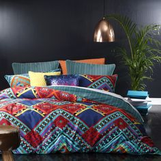 Jimbaran Spice, Available In Single, Double, Queen, King An Superking Quilt  Sets