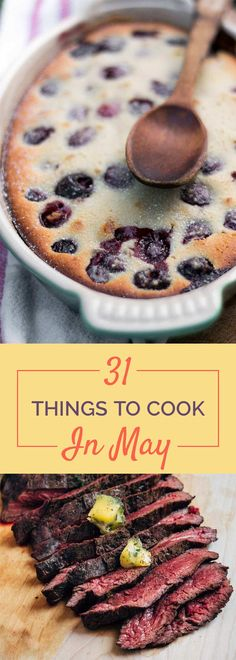 31 Delicious Things To Cook In May