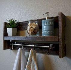 Gorgeous Bathroom Shelves and Organization Ideas (44)