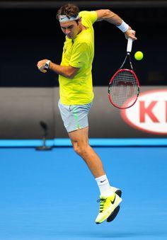 Roger Federer Photos - 2015 Australian Open - Previews - Zimbio