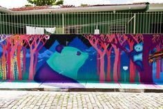 Beco do Batman (Batman�s Alley), a heavily graffiti-ed zone in Sao Paulo thanks to Lost at E Minor
