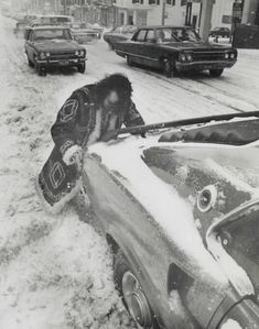 Vintage Photographs of Toronto Snow Storms that took place over the years including some of the aftermaths and how the city dealt with the snow. Toronto Snow, Toronto Ontario Canada, Snow Storms, Vintage Photographs, Over The Years, Ol, Monster Trucks, Black And White, Retro