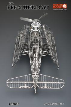 1/48 F6F-5 Hellcat Full PE Model By Jasmine Model