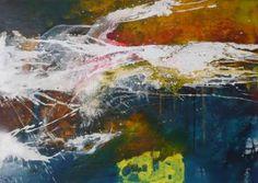 "Saatchi Art Artist Anja Stemmer; Painting, ""Lightning"" #art"