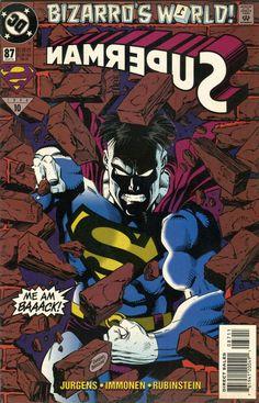 BIZARRO WORLD - SUPERMAN DC #87 March 1994 MINT+!