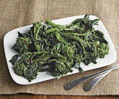 Sautéed Broccoli Raab with Balsamic Vinegar - Recipe - FineCooking Garlic Recipes, Vegetable Recipes, Healthy Recipes, Vegetarian Recipes, Cooking Recipes, Broccoli Raab, Balsamic Vinegar Recipes, I Chef, Veggie Side Dishes