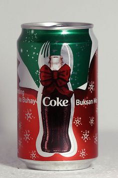 2006 Coca-Cola can Philippines Christmas by roitberg, via Flickr