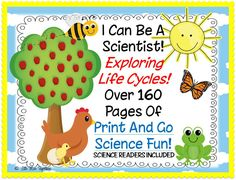 Little Miss Hypothesis - Lessons from the Science Lab! $Print and go science fun including readers!