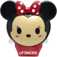 Lip Smacker Disney Tsum Tsum Balms, Stitch Blueberry Wave, 0.26 Ounce ($14) ❤ liked on Polyvore featuring beauty products, skincare, lip care, lip treatments and disney